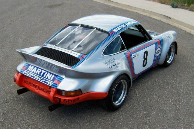 1971 Porsche 911 Rare1973 3 0 Rsr Carrera Body Martini Racing Vintage Track Club For Sale