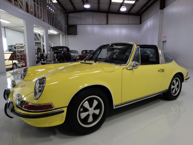1971 Porsche 911 E 2.2 Targa, NUMBER 24 OF ONLY 788 PRODUCED!