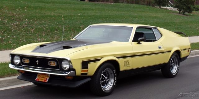 1971 Ford Mustang Real Deal Mach1
