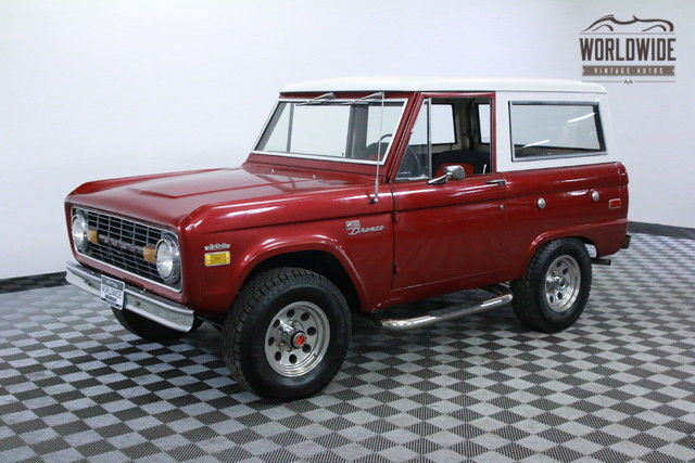 1971 Ford Bronco SPORT UNCUT RESTORED V8