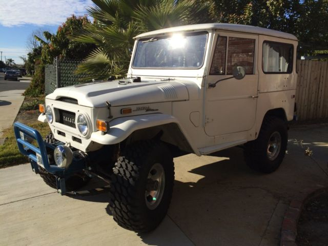 1971 Toyota Land Cruiser Jeep