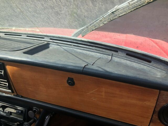 1971 Red Triumph Other Convertible with Black interior
