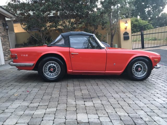 1971 Triumph TR-6 PERFECT FOR SUMMER