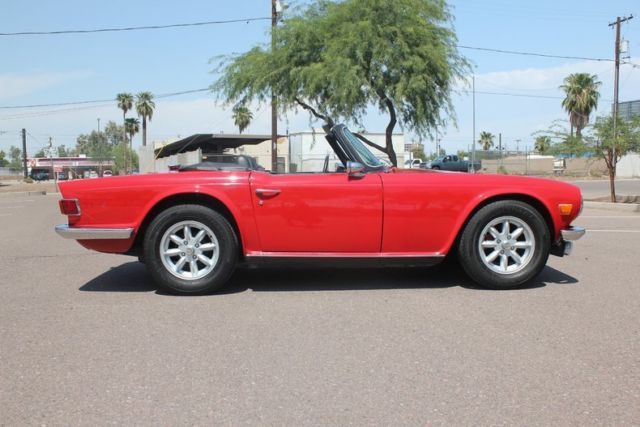 1971 Triumph TR6, Supercharged inline 6!! for sale: photos