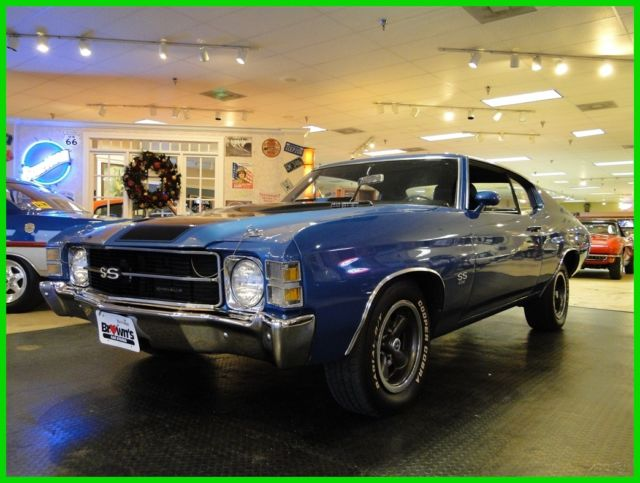 1971 Chevrolet Chevelle True SS with Buildsheet