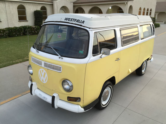 1971 Volkswagen Bus/Vanagon Westfalia Bus