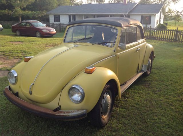 1971 Vw Beetle Convertible