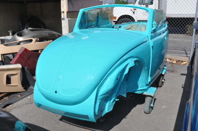 1971 VW Super Beetle Convertible - Classic Frame-off Restoration for sale: photos, technical ...