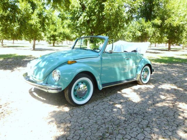 1971 Vw Volkswagen Super Beetle Convertible