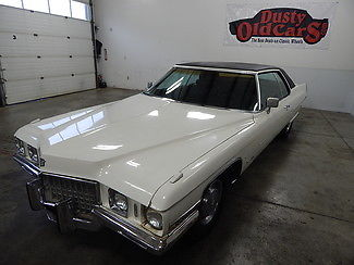 1971 Cadillac DeVille Runs Drives Steers Stops Good Overall Car