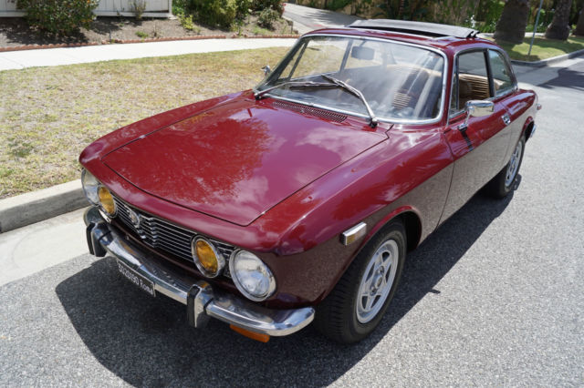 1972 Alfa Romeo GTV 115 SERIES 5 SPD MANUAL COUPE WITH SUNROOF!
