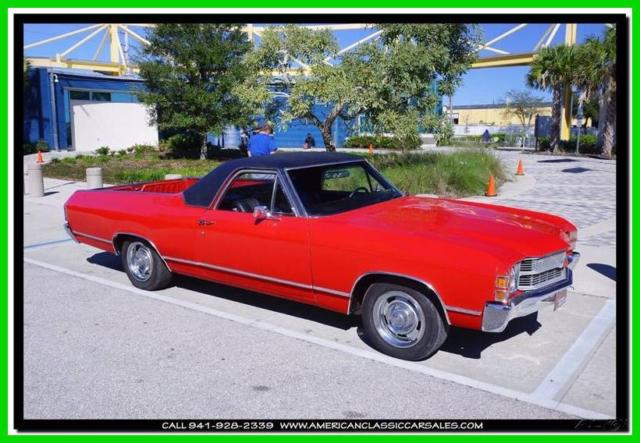 1972 Chevrolet El Camino 3 Speed