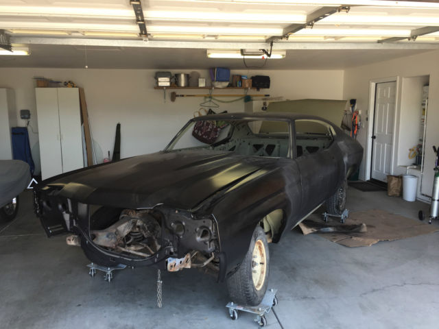 1972 Chevrolet Chevelle Project
