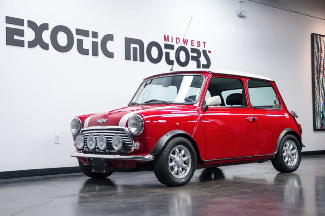 1971 Red Austin MINI Coupe with Black interior