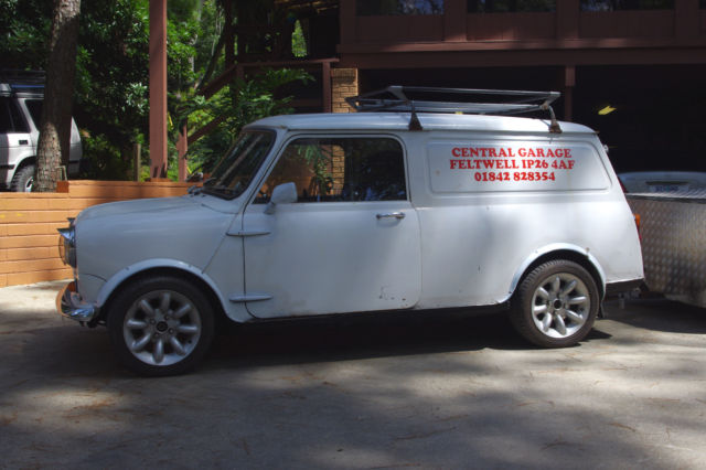 1972 austin mini cooper clubman van commercial 1275 with trailer for sale photos technical. Black Bedroom Furniture Sets. Home Design Ideas
