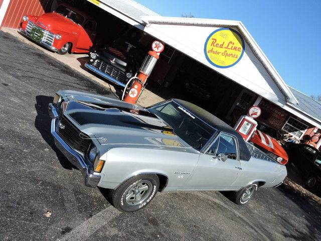1972 Chevrolet El Camino NUMBER MATCHING / BUILD SHEET