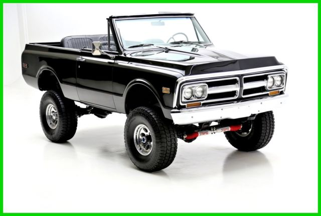 1972 GMC Jimmy Black 4WD, Black Interior