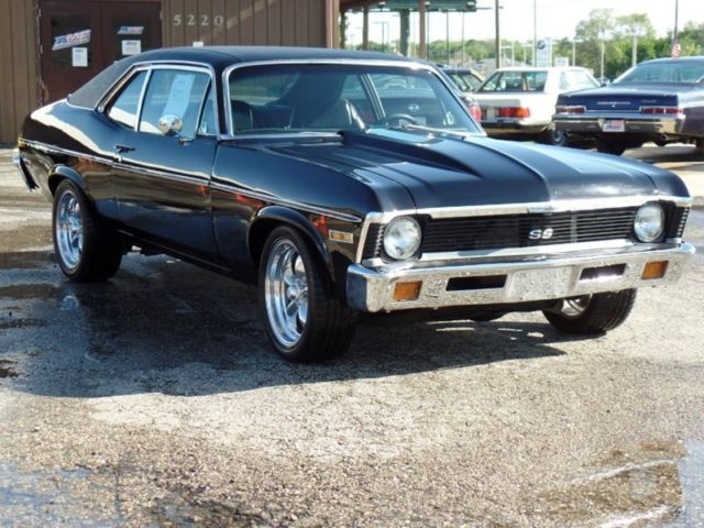 1972 Black On Black Great Driver Nova 68 69 70 71 For Sale Photos Technical Specifications
