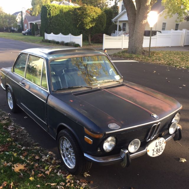 1972 BMW 2002 1972 BMW 2002 4 speed and Sunroof  - Great Runner