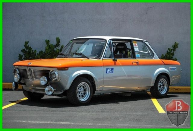 1972 BMW 2002 2002TII EUROPEAN RALLY RACING HISTORY STREET/TRACK