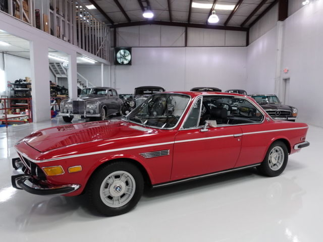 1972 BMW 3-Series 3.0CS Coupe, ORIGINAL MATCHING #S ENGINE!
