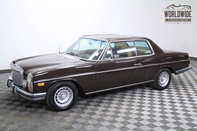 1972 Mercedes-Benz 200-Series RARE! Garaged. Beautiful.