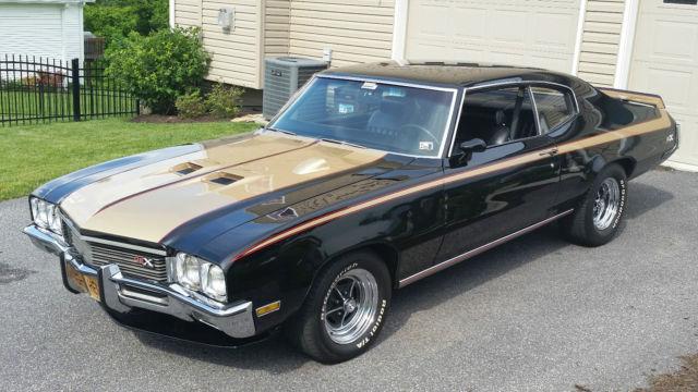 1972 buick skylark gsx clone 455 ci for sale photos technical specifications description. Black Bedroom Furniture Sets. Home Design Ideas