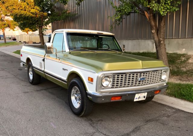 1972 Chevrolet Other Pickups Deluxe