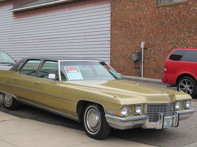 Cadillac Fleetwood Brougham Last Of The Extended Body Styles