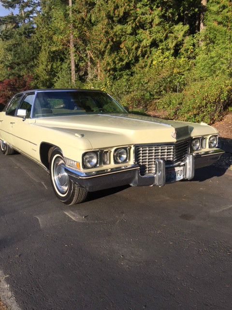 1972 cadillac fleetwood brougham series 60 special; beautifully