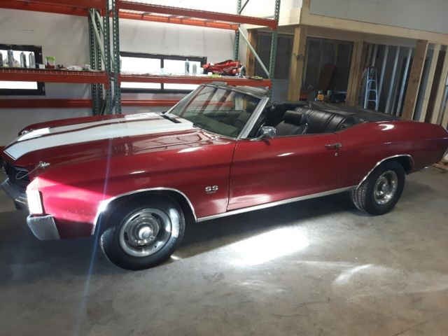 1972 Chevrolet Chevelle 454 SS CONVERTIBLE