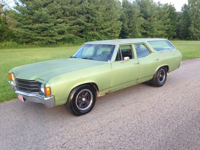 1972 Chevrolet Chevelle Station Wagon