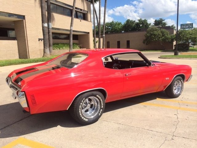 1972 Chevelle Ss Disc Brakes Bright Red F41 Suspension 12