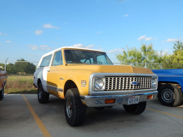 1972 Chevrolet Blazer K5 Custom