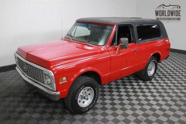 1972 Chevrolet Blazer FOUR WHEEL DRIVE CONVERTIBLE!
