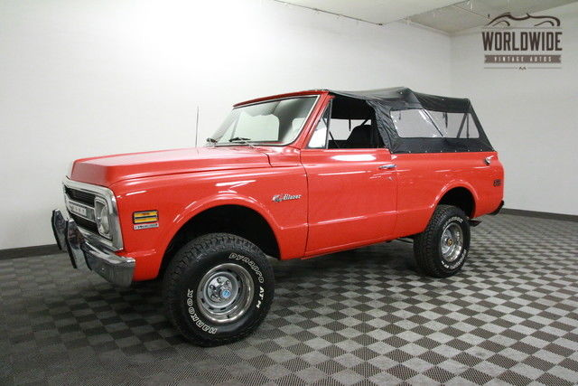 1972 Chevrolet Blazer RESTORED! HUGGER ORANGE. SHOW OR GO!