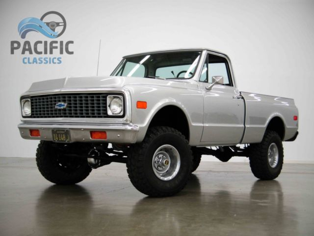 1972 Chevrolet C10 4x4 All New Under 1000 Miles On Build