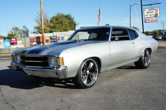 1972 Chevrolet Chevelle Base Hardtop 2-Door