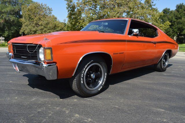 1972 Chevrolet Chevelle Gorgeous Restoration Inside and Out