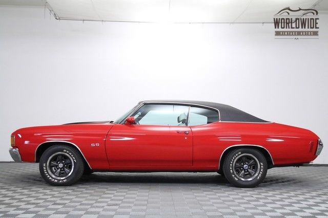 1972 Chevrolet Chevelle Full Restoration. Correct Big Block V8! A/C Car!