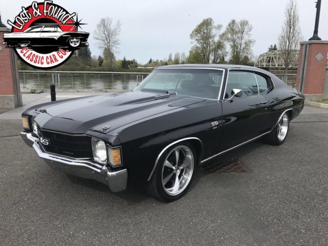 1972 Chevrolet Chevelle SS LS6 454 4 speed