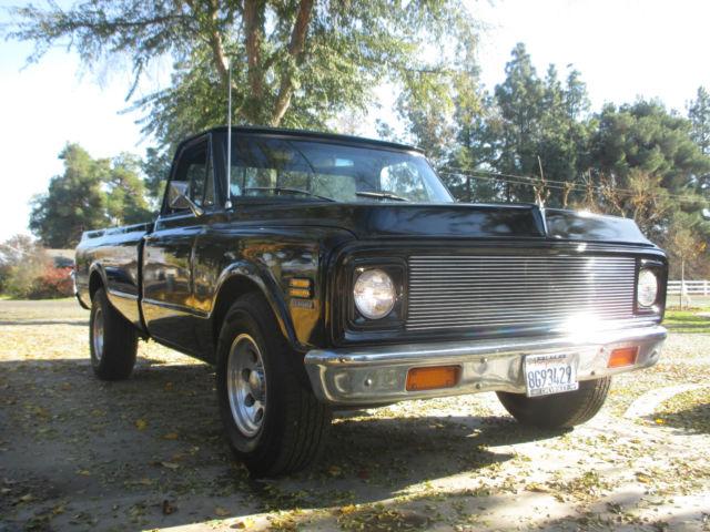 1972 chevrolet chevy truck c20 v8 manual transmission 68 69 70 71 for sale photos. Black Bedroom Furniture Sets. Home Design Ideas