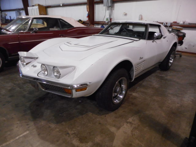 1972 Chevrolet Corvette 1 of 286 / LT1 Factory Air Conditioning