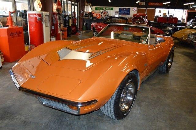 1972 Chevrolet Corvette Stingray Convertible 454 Ls5 For Sale