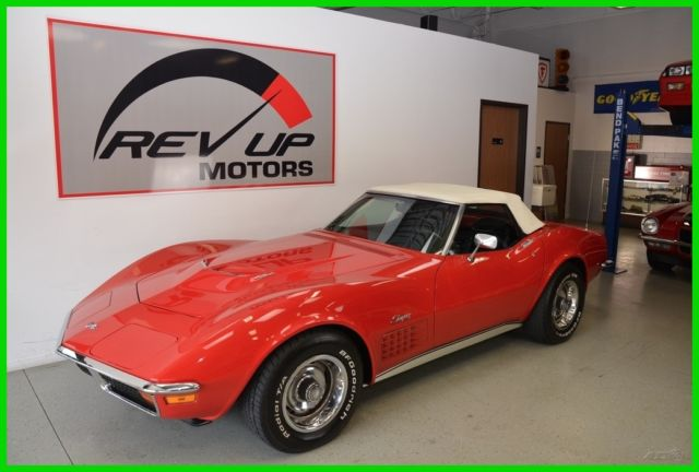 1972 Chevrolet Corvette Stingray Convertible Ls5 454 Ac Financing