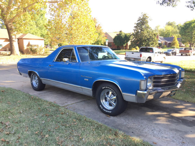 1972 Chevrolet El Camino New Paint