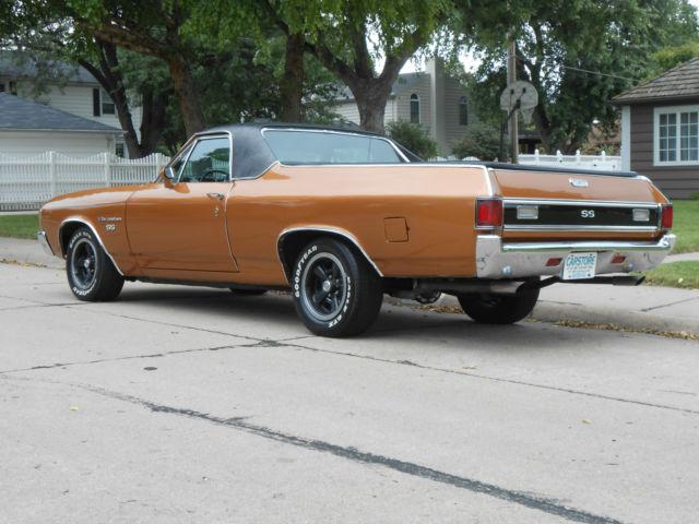 1972 Chevrolet El Camino Real Deal Ss W Original Retail