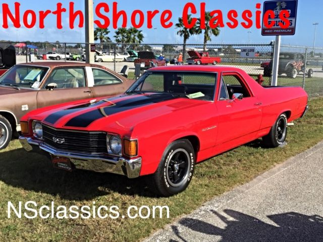 1972 Chevrolet El Camino SS LOOK WITH WORKING AC AND NEW PAINT 70 72