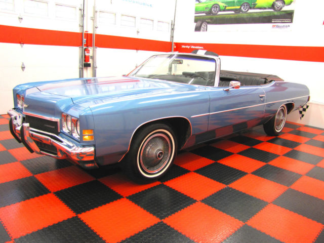 1972 Chevrolet Impala CONVERTIBLE ORIGINAL SURVIVOR