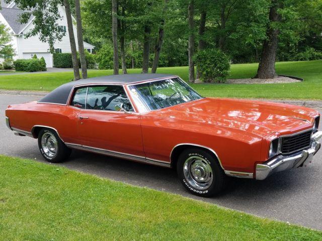 1972 Chevrolet Monte Carlo Big Block Bucket Seats Power Windows For Sale Photos Technical Specifications Description